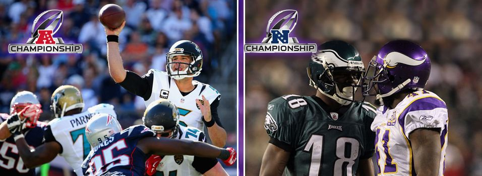 The best ways to wager on the NFL Conference Championship betting odds   News Article by SportsBettingOnline.ag