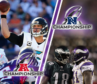 The best ways to wager on the NFL Conference Championship betting odds