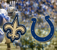 Saints bettors go marching vs. Colts on Monday Night Football