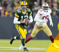 Betting the Sunday night NFL odds: NFC elite battle by the bay when Packers play 49ers