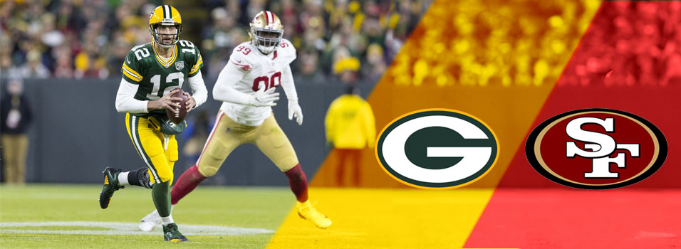 Betting the Sunday night NFL odds: NFC elite battle by the bay when Packers play 49ers | News Article by SportsBettingOnline.ag